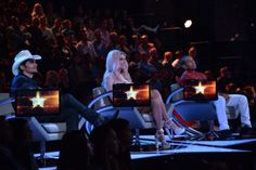 Rising Star Experts Brad Paisley, Kesha and Ludacris.