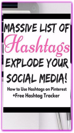 Best Hashtags and Guide - Watch Your Traffic Explode! Hashtags are like free tags for the entire internet. Use them to skyrocket traffic. Hashtags For Likes, List Of Hashtags, How To Use Hashtags, Popular Hashtags, Digital Marketing Strategy, Business Marketing, Content Marketing, Online Marketing, Social Networks