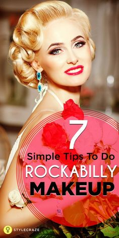 To Do Rockabilly Makeup: You may have seen the rockabilly woman talk about ., Tips To Do Rockabilly Makeup: You may have seen the rockabilly woman talk about ., Tips To Do Rockabilly Makeup: You may have seen the rockabilly woman talk about . Rockabilly Make Up, Rockabilly Hair Tutorials, Rockabilly Moda, Rockabilly Wedding, Rockabilly Fashion, Rockabilly Makeup Tutorial, 1950s Makeup Tutorial, Pin Up Makeup, Retro Makeup
