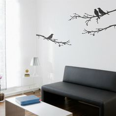 Surface Collective 1402 Bye Bye, Blackbird Wall Decal