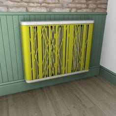 NEW Psychedelic zesty yellow YOYO abstract radiator case