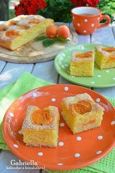 Barackos manna, avagy sárgabarackos kevert sütemény