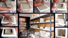 Kályhacsempe gyártása kézműves kivitelezésben