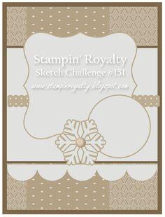 Stampin' Royalty: Stampin' Royalty Challenge #151