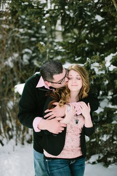 I've been anxiously editing so that I could post this blog. Tom and Brittany will be getting married this year in December. They love the snow and are hoping it will be a snowy day during the wedding. Needless to say, they requested to do their engagement session in the mountains during what we…