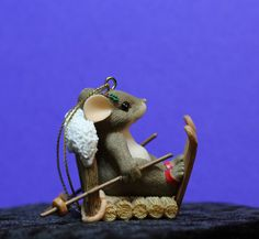 Charming tails Heading for the slopes by ifoundthat on Etsy, $15.00