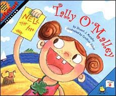 Tally O'Malley Books for teaching graphing lessons. Picture Books