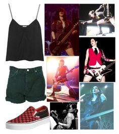 """""""Untitled #2335"""" by llamapoop ❤ liked on Polyvore featuring Vans, Miu Miu and Wrangler"""