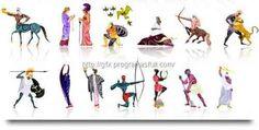 Vectores de la mitologia griega