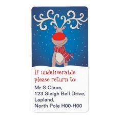 Shop Christmas return address labels blue created by Mylittleeden. Personalize it with photos & text or purchase as is! Christmas Return Address Labels, Christmas Labels, Christmas Photo Cards, Holiday Cards, Christmas Gifts, Gift Labels, Blue Christmas, Art For Kids, Merry