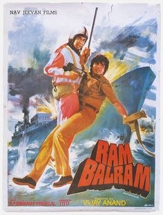 "Ram Balram (1980). This movie directed by Vijay Anand, stared Dharmendra, Amitabh Bachchan Zeenat Aman, Rekha, Amjad Khan and Pran. Music by Laxmikant-Pyarelal had some memorable songs like, ""Yaar Ki Khabar Mil Gai"", ""Humse Bhool Ho Gayee, Humka Maafi Dai Do"",""Ladki Pasand Ki"" and Ek Rasta Do""."