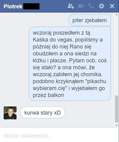 23 rozmowy facebookowe i smsowe, które cię rozbawią – Demotywatory.pl Funny Sms, Funny Messages, Haha Funny, Funny Cute, Funny Jokes, Lol, Polish Memes, Sarcastic Humor, Best Memes