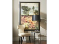 Lavendar Suite Framed Artwork is a lovely accent for the Gold Tone Dining Room