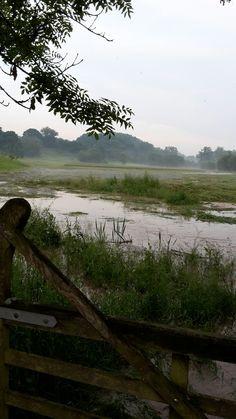 Overstromingen geul in epen.