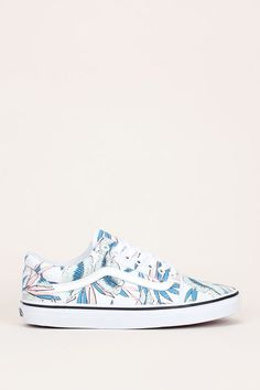 Perfect tropical Vans Sneakers to match with jeans or pants #promotion