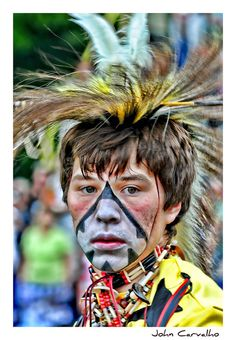Six Nations by mississaugapictures, via Flickr Native American Regalia, Native American History, Six Nations, First Nations, Dress Man, Different Kinds Of Art, White Eyes, American Pride, Face Skin