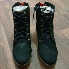 Women's leather boots Steve Madden Resistt women's leather boots Steve Madden Shoes