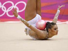 Olympics 2012. Evgenia Kanaeva.