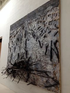 Anselm Kiefer, Unknown on ArtStack Anselm Kiefer, Augustin Lesage, Collage Art Mixed Media, Found Object Art, Assemblage Art, Artist Art, Contemporary Artists, Oeuvre D'art, French Artists