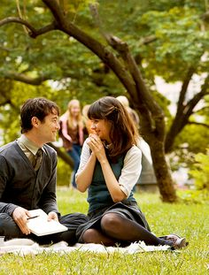 """(500) Days of Summer"" One of my favourite movies!! It's such an honest and charming film!"