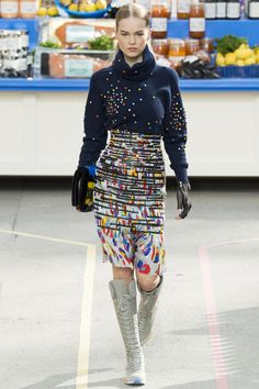 Défilé Chanel prêt-à-porter automne-hiver 2014-2015|33