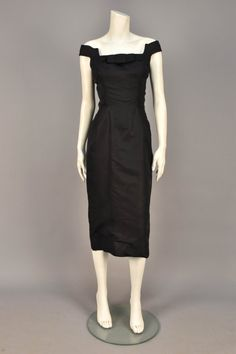 Lot: ESTEVEZ SILK COCKTAIL DRESS, 1960s., Lot Number: 0805, Starting Bid: $50, Auctioneer: Charles A. Whitaker Auction Co., Auction: Couture & Textiles from Museum Collections, Date: April 16th, 2016 CDT