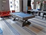 The Brunswick brixton pool table is a specular in this room setting.
