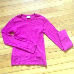 Fuchsia long sleeves tee shirt Good condition Rocky Tops Tees - Short Sleeve