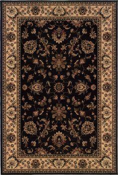 ARIANA, Black - Charcoal, Oriental Weavers, Machine Made, Traditional Rugs & Oriental Rugs   Oriental Designer Rugs  #rug #rugstore #rugsale #arearug #rugcleaning #rugwash #rugshopping #rugrepair #carpetcleaning