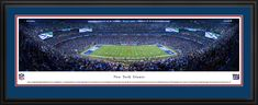 New York Giants Panoramic Picture - MetLife Stadium Panorama - Deluxe Frame $199.95