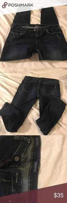 Vigoss Jeans size 32 Perfect condition Vigoss size 32 jeans. Length 27. The Thompson Tomboy Skinny. Selling because they are too big. Vigoss Pants