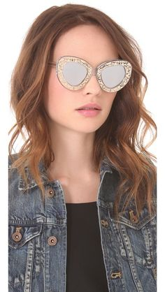 AWESOME Karen Walker Intergalactic Sunglasses