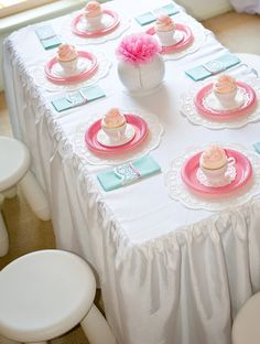 Little Big Company | The Blog: Tea Party by Saffy & May