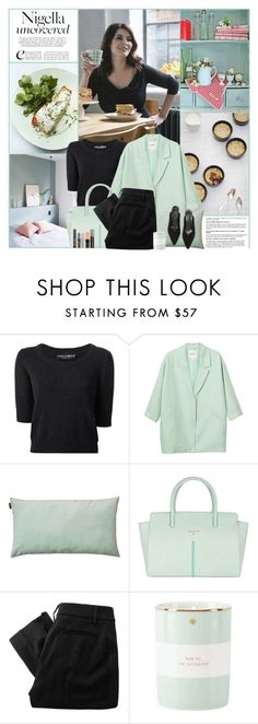 """""""Nigella Uncovered"""" by kittyfantastica ❤ liked on Polyvore featuring Oui, Dolce&Gabbana, Monki, LINUM, Patrizia Pepe, Vivienne Westwood Red Label, Kate Spade and Benefit"""