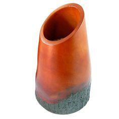 Covina Vase in Orange