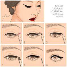 steps, make up, eyeliner Smudge Proof Eyeliner, No Eyeliner Makeup, Eye Makeup Tips, Makeup Inspo, Makeup Inspiration, Beauty Makeup, Eyeliner Hacks, Black Eyeliner, Makeup Ideas