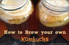 How to brew kombucha | Real Food RN