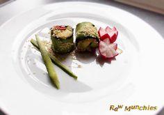 From my upcoming #cookbook Mission Raw: Mega Sushi #Raw #Vegan #rawvegan #book Rawmunchies.org #sushi #vegansushi #rawvegansushi #avocadomaki #maki