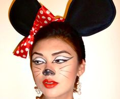 Minnie mouse inspired eye makeup, art. | Eye art | Pinterest | Eye ...