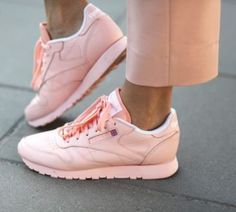 Pink sneaks. | Shop pink sneakers on shopstyle.com
