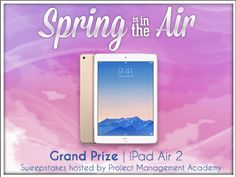 Want to win iPad Air 2? I just entered to win and you can too. http://gvwy.io/cq2v2tv