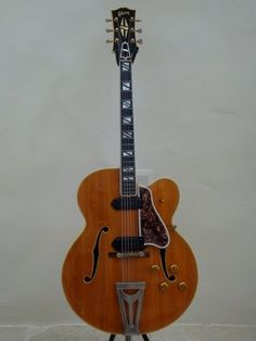 Scotty Moore's '56 Gibson Super 400 guitar....one of the guitars that Moore used to change the music world with Elvis Presley...worth a fortune......