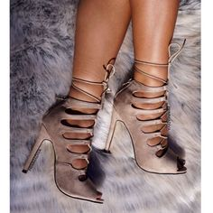 'Bella' Taupe Available Now  Fall In Love With This Seductive Lace Up Available In Various Colors   15% OFF The Entire Website FREE Priority Shipping Use Code |SUNSHINE|  http://ift.tt/227XPYn  #primmadiva #fashion #fashionista #fashionheels #love #summerfashion #laceupsandals #springready #taupeheels #nudeheels #mua #motd #motn #ootd #ootn #sotd #sotn #hotd #hotn #getthelook #getthislook #instaheels #anastasiabeverlyhills #amrezy #lhhny #monday #happymonday #springbreak by primmadiva_