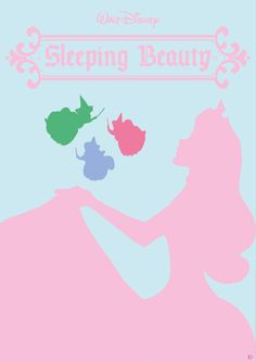 "Disney Poster ""Sleeping Beauty""  #disney #poster #sleepingebauty #simplyposy"