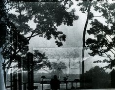 Arnold Newman Photography of Philip Johnson Glass House Philip Johnson Glass House, Architecture Images, House Architecture, Still Life Images, Environmental Portraits, Famous Photographers, Through The Looking Glass, Black And White Photography, Exterior