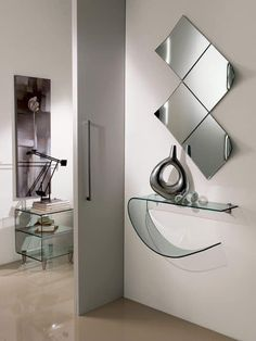Choose Decorative Mirror Design Ideas For Room Walls! Choose Decorative Mirror Design Ideas For Room Walls! Romantic Home Decor, Easy Home Decor, Home Decor Kitchen, Cheap Home Decor, Kid Decor, Decor Ideas, Mirror Decor Living Room, Spiegel Design, Cheap Office Decor