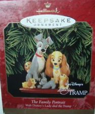 disney hallmark ornaments lady and the tramp