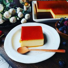 Custard Desserts, No Bake Desserts, Flan, Sweets Recipes, Cooking Recipes, Best Sweets, Luxury Food, Low Carb Sweets, Food Cravings