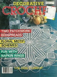 DECORATIVE CROCHET MAGAZINE  32 Projects  Dollies  by KenyonBooks, $5.00