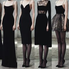Spaghetti Straps black prom dress long/short evening dress simple party dress 2019 new fashion show(Offer four styles) - Dresses Fashion Sexy Dresses, Beautiful Dresses, Fashion Dresses, Prom Dresses, Beautiful Black Dresses, Evening Dress Long, Evening Dresses, Simple Party Dress, Black Prom